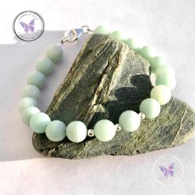 Amazonite Bracelet Mint Green